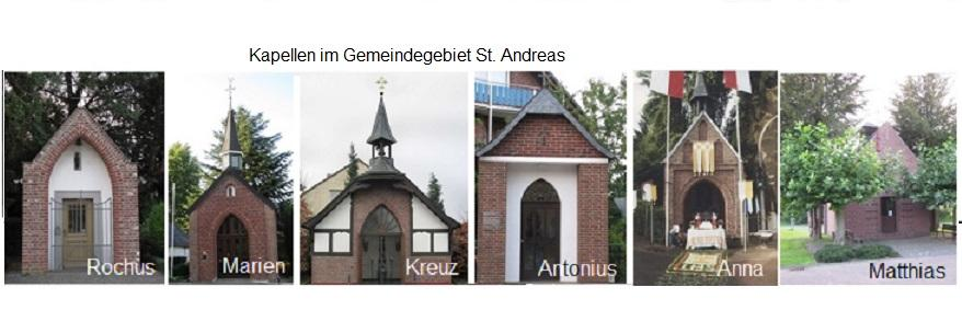Kapellen in St. Andreas