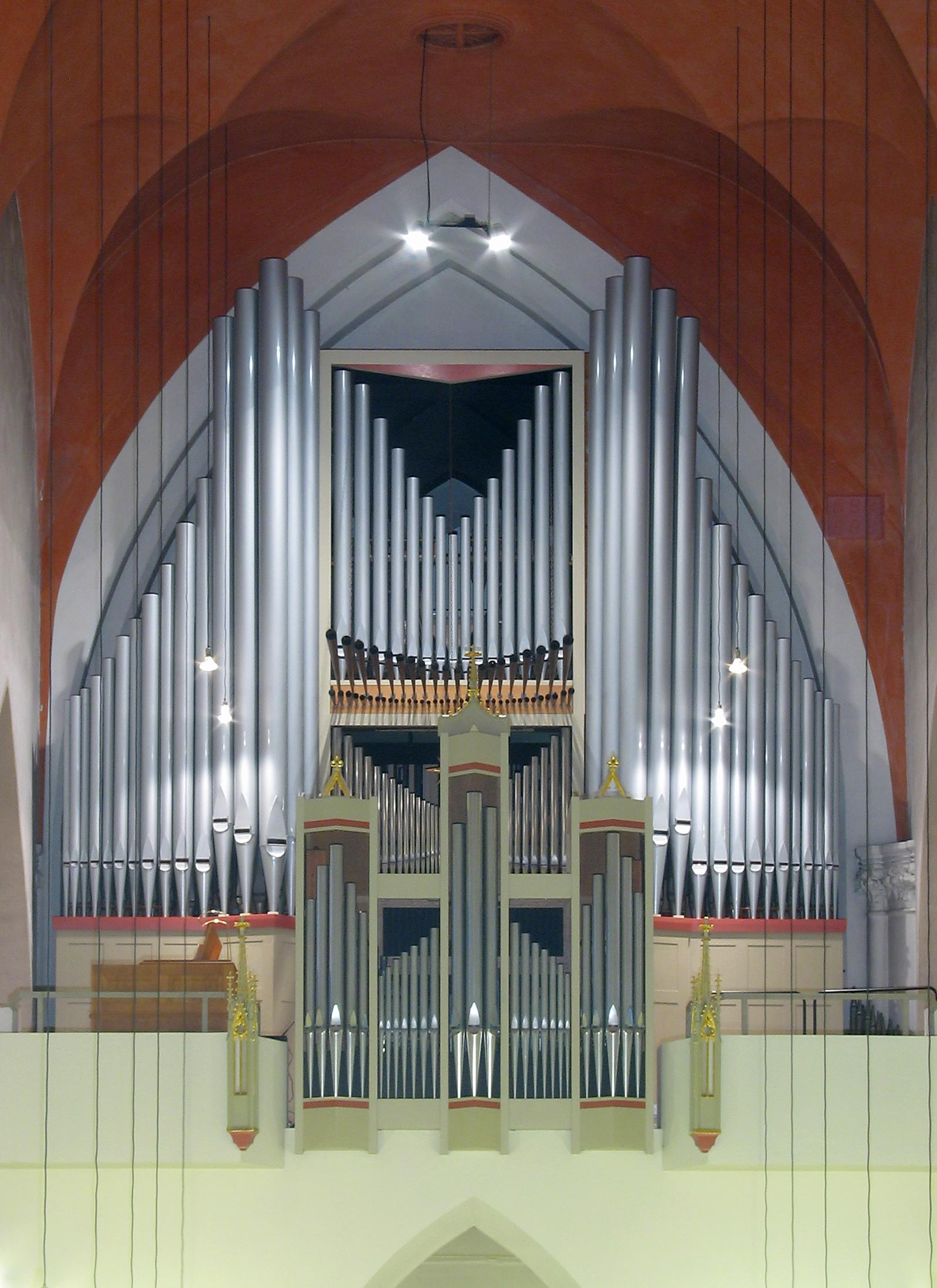 Orgel in St. Andreas (c) Olaf D. Hennig